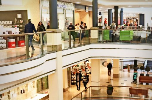 Wie Shoppingcenter unter dem Milaneo leiden