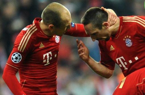 Streit zwischen Ribéry und Robben