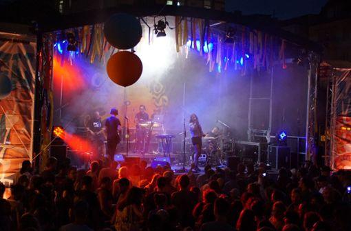 Partystimmung auf dem Marienplatzfest