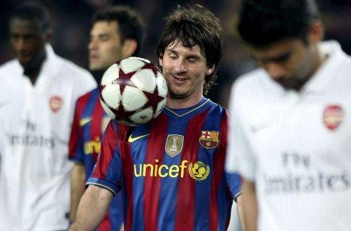 Die Messi-Show geht weiter