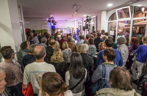 Großes Interesse am Programm der Stuttgarter Nachrichten, des Medienpartners der Stuttgartnacht.  Foto: Lichtgut/Julian Rettig