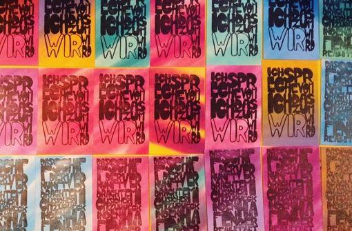 Künstler Stuttgart unbekannter künstler in stuttgart streetart im postkartenformat