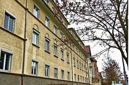 Vom Abriss   bedrohte Häuser in der Beethovenstraße Foto: jb