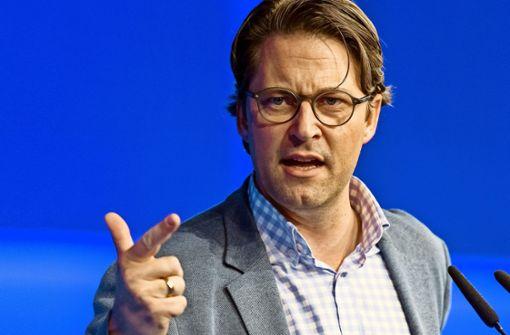 Minister Scheuer, der Zetsche-Schreck
