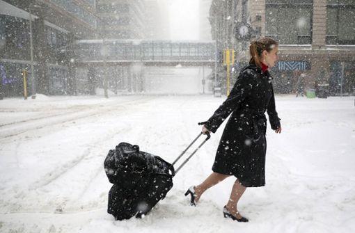 Frühlingsstürme bringen dem Mittleren Westen viel Schnee