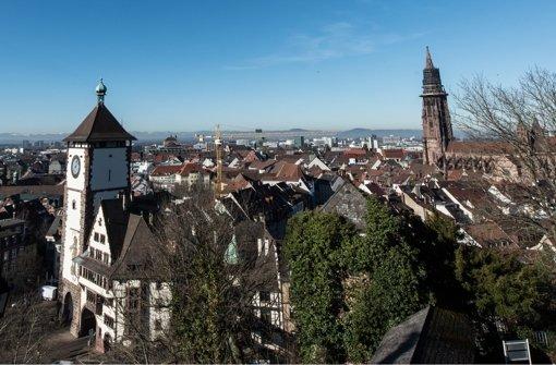 In Freiburg ist eine Weltkriegsbombe entdeckt worden. Foto: dpa