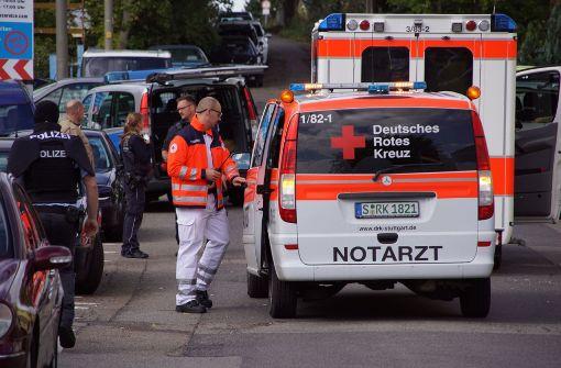 Die Polizei hat einen... Foto: SDMG