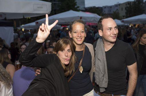 Freunde treffen und feiern: Am Freitagabend ist die Stimmung auf dem Henkersfest bestens.  Foto: 7aktuell.de/Oskar Eyb