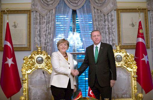 Zeichen gegen Erdogan