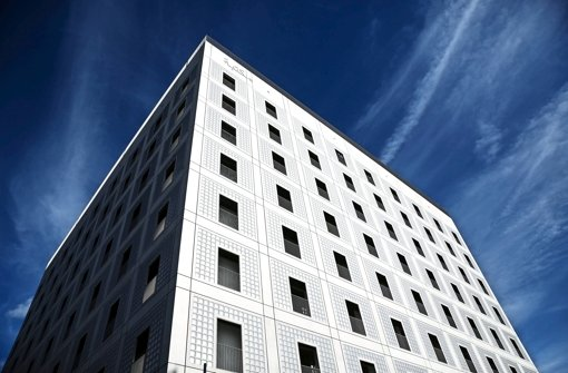 Die Stadtbibliothek Stuttgart überzeugt Architekturfreunde Foto: Leif Piechowski