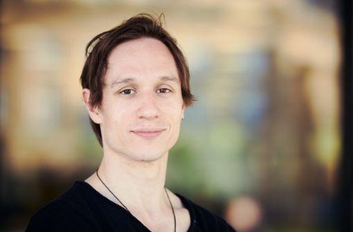Tänzer, Choreograf und Fotograf: Roman Novitzky, Erster Solist des Stuttgarter Balletts Foto: Steffen Schmid