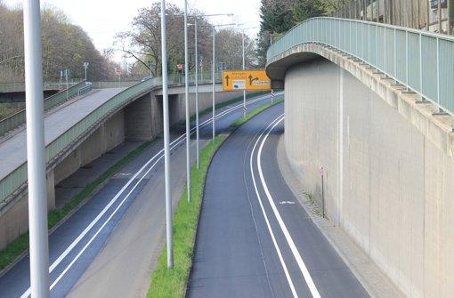 Freie Fahrt für Fahrradfahrer