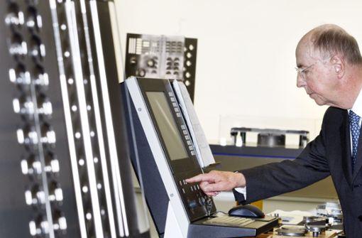 Die Digitalisierung trieb Leibinger schon sehr früh voran. Foto: dpa