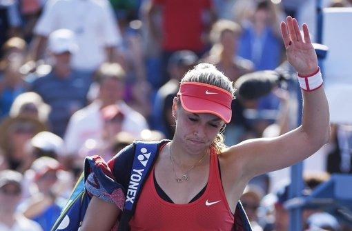 Trauriger Abgang der Tennisdamen