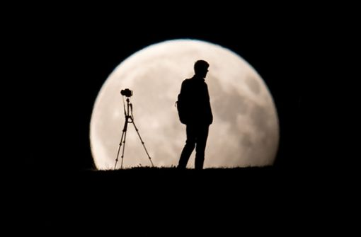 So gelingen tolle Bilder von der totalen Mondfinsternis