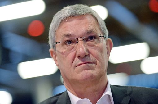 Sieht sich nicht geschwächt und stellt eine erneute Kandidatur für den Parteivorsitz in Aussicht: Linke-Vorsitzender Bernd Riexinger. Foto: dpa