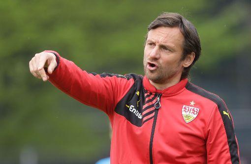 Kämpft als Trainer mit der  U19 des VfB gegen den Abstieg aus der A-Junioren-Bundesliga: Ex-Profi Heiko Gerber. Foto: Baumann