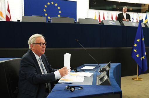EU-Kommissionspräsident Jean-Claude Juncker will bei dem Thema keine Zeit verlieren. Foto: AFP