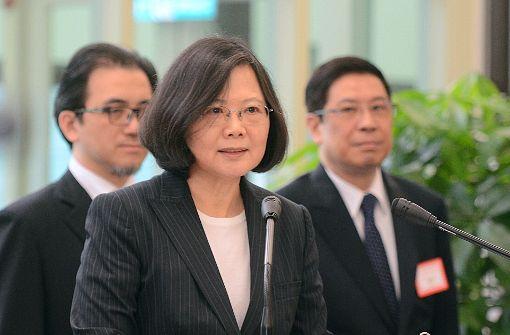 China warnt USA vor Treffen mit Taiwans Präsidentin
