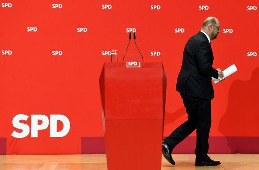 Schicksalstag für Martin Schulz