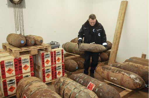 Ein Bunker voller Bomben