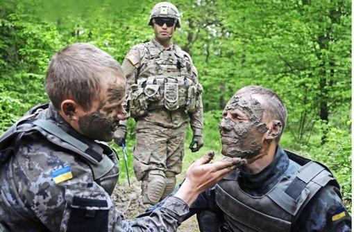 US-Miltär in der Ukraine