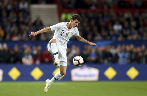 Benjamin Pavard vom VfB Stuttgart wurde für die kommenden Länderpsiele nominiert. Foto: AP