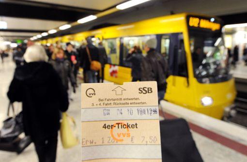 In Spitzenzeiten sind die Bahnen auch in Stuttgart ausgelastet. Foto: dpa