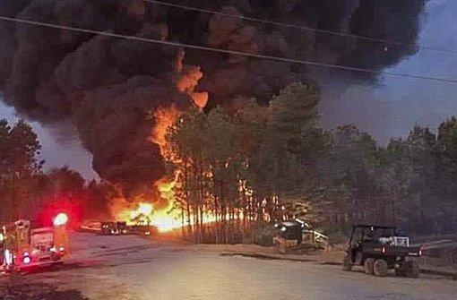 Pipeline in den USA explodiert