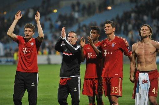 Der FC Bayern gewinnt in Marseille