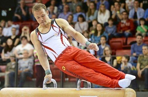 Kritisiert den DTB: Topstar Fabian Hambüchen. Foto: Pressefoto Baumann