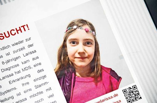 Spender gefunden – Hoffnung für Larissa