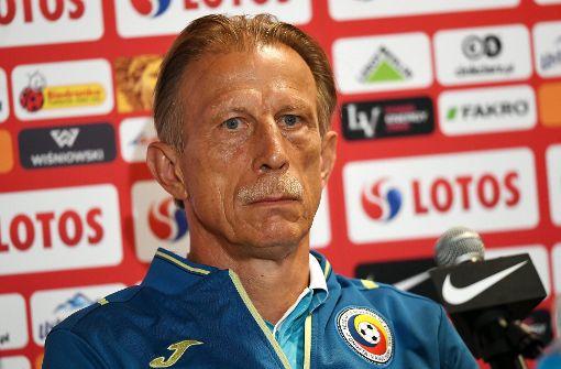 Christoph Daum nicht mehr rumänischer Nationaltrainer