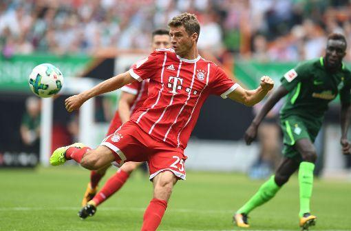 Thomas Müller spielte erst ab der 73. Minute. Das frustrierte den Weltmeister ziemlich. Foto: AFP