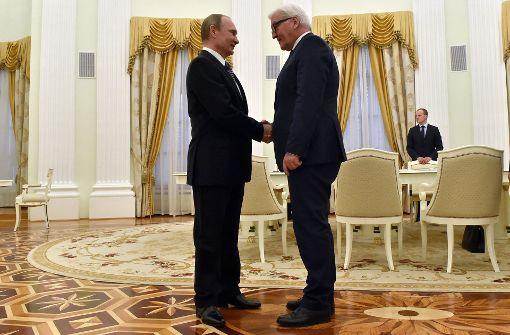 Bundespräsident Steinmeier reist nach Russland