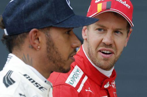 Die Fünf: Hamilton vs. Vettel