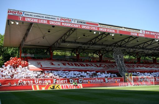Platz 25: Die Heimat von Union Berlin, das Stadion an der alten Försterei, belegt gleichauf mit Darmstadt den letzten Platz. Für vegane Fans gibt es lediglich Brezeln zu kaufen. Foto: dpa