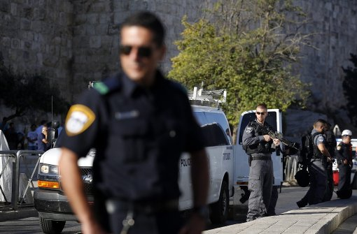 Palästinenser verletzt israelische Polizisten schwer