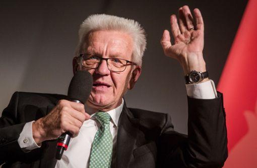 """Kretschmann will nicht """"Papa"""" der Oberbürgermeister sein"""