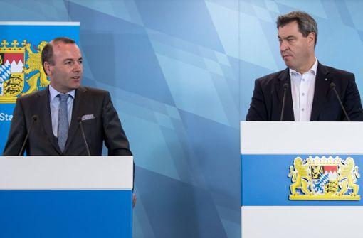 Manfred Weber sagt für CSU-Vorsitz ab