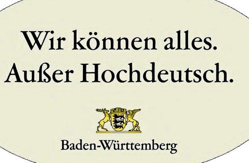 Schwäbisch dialekt mundart der schwäbisch beweis baden württemberg