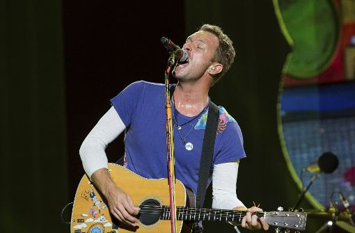 Chris Martin von Coldplay singt George Michael