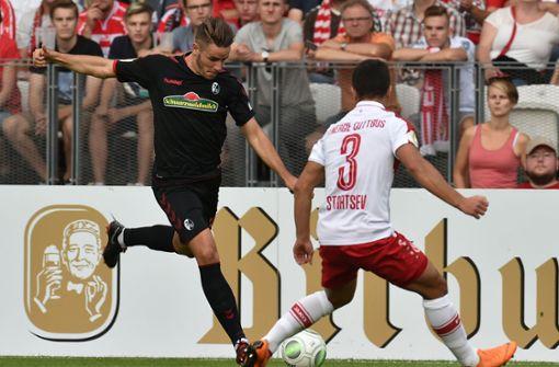 SC Freiburg und Hertha BSC mit Mühe in Runde zwei