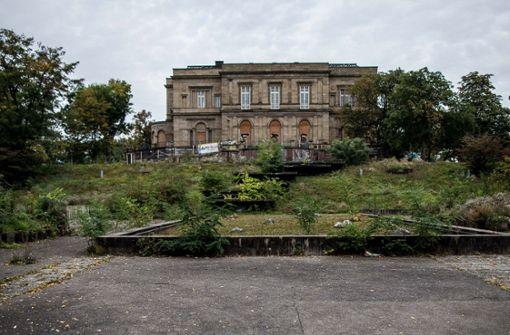 Villa Berg:  Sanierung  kostet  bis zu 38 Millionen