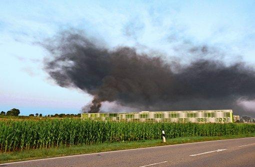 Zwei Großbrände sorgen für Millionenschaden