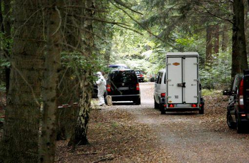 In diesem Waldstück bei Pforzheim wurde die Leiche des Jägers Anfang Oktober gefunden. Foto: SDMG
