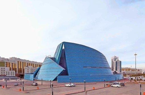 Erster Architekturführer für Kasachstan