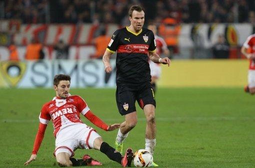 Ordentlicher Einstand im VfB-Trikot: Kevin Großkreutz Foto: Baumann