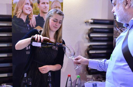 Im Römerkastell schenken die besten Weingüter aus