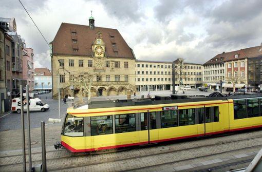 Weiche für Stadtbahn gestellt